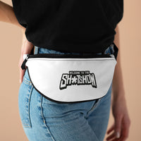 Shitshow (Logo Design) - White Fanny Pack