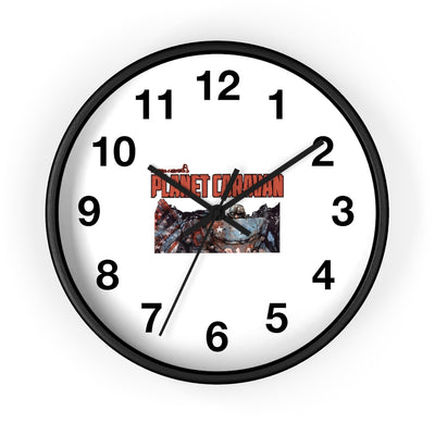 Planet Caravan (Issue 1 Design) - Wall Clock
