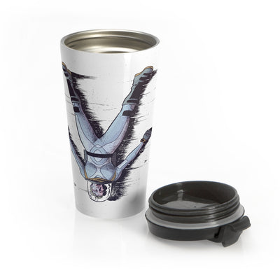 Canopus (Helen Upside Down Design) - Stainless Steel Travel Mug