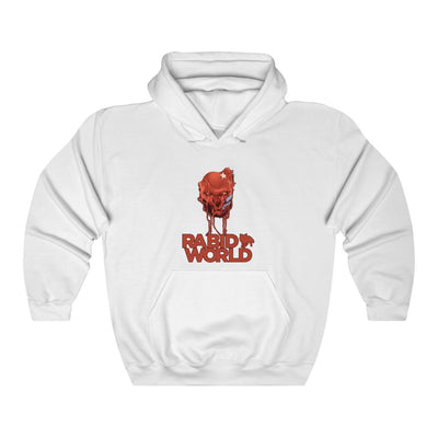 Rabid World (Head Design) - Heavy Blend™ Hooded Sweatshirt