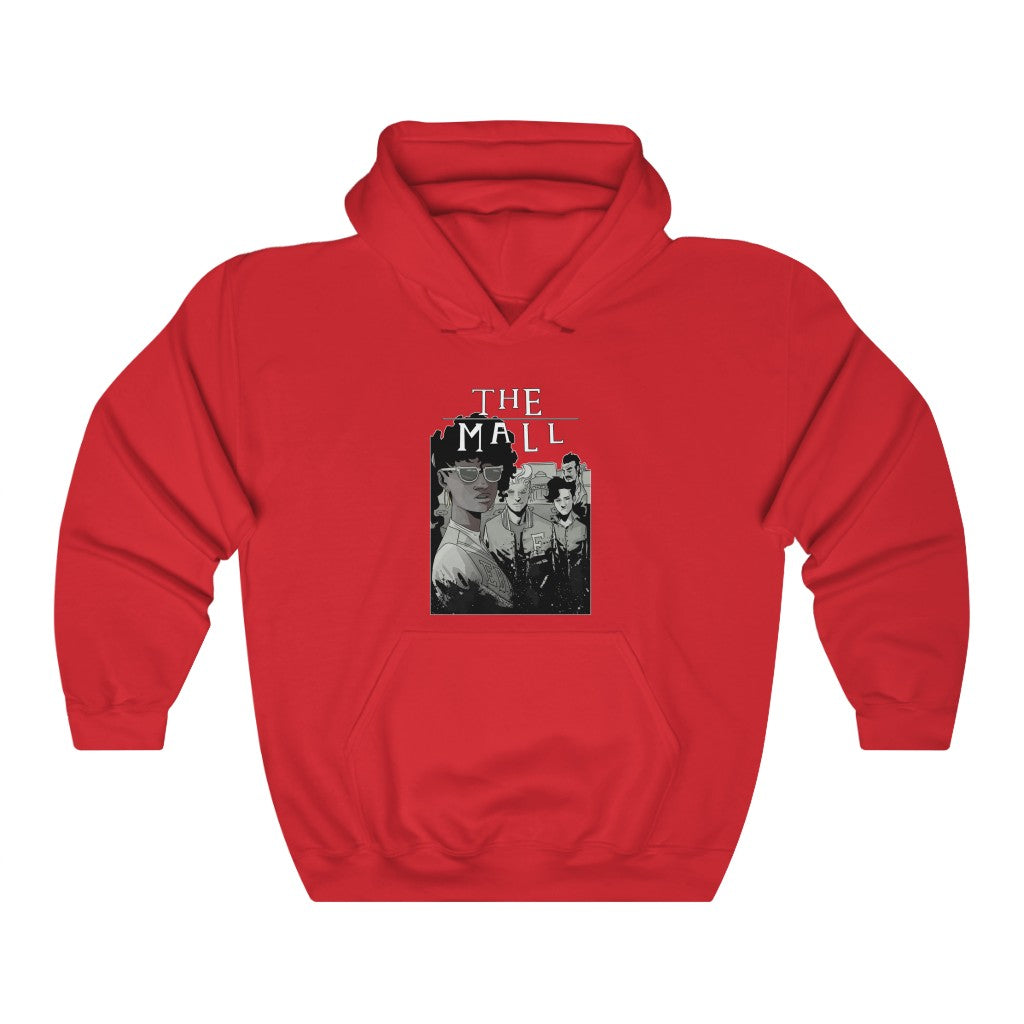 The Mall (Lost Boys Homage Design) - Heavy Blend™ Hooded Sweatshirt