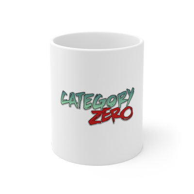 Category Zero (Logo Design) - 11oz Coffee Mug