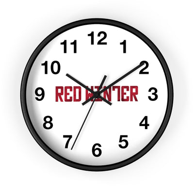 Red Winter (Logo Design) - Wall Clock