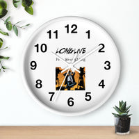 Long Live Pro Wrestling (Issue #0 Design) - Wall Clock