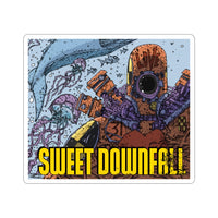 Sweetdownfall (Issue #1 Cover) - Kiss-Cut Stickers