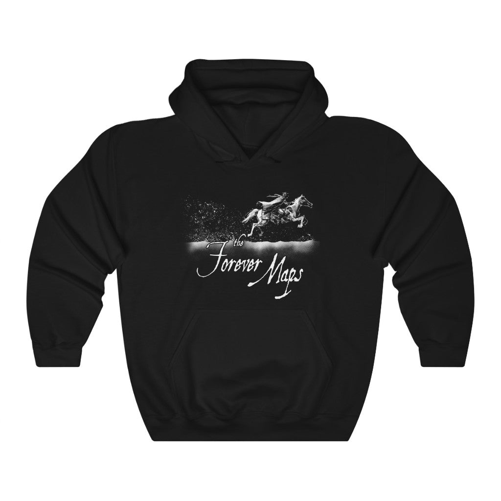 Forever Maps (Gallop Design) - Heavy Blend™ Hooded Sweatshirt