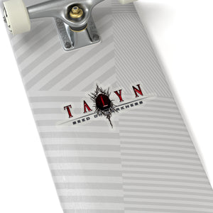Talyn (Logo Design) - Kiss-Cut Stickers