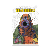 Sweetdownfall (Robot Design) - Kiss-Cut Stickers