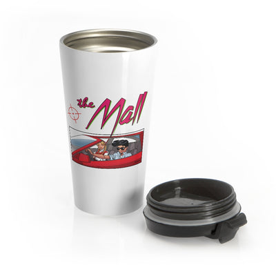 The Mall (Sports Car Design) - Stainless Steel Travel Mug