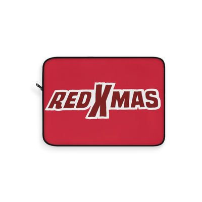 Red XMAS (Logo Design) - Red Laptop Sleeve