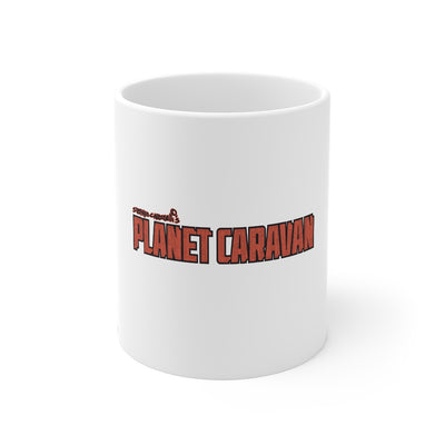 Planet Caravan (Logo Design) - 11oz Coffee Mug