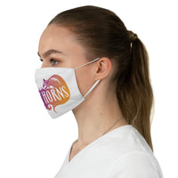 By The Horns (Logo Design) - Fabric Face Mask