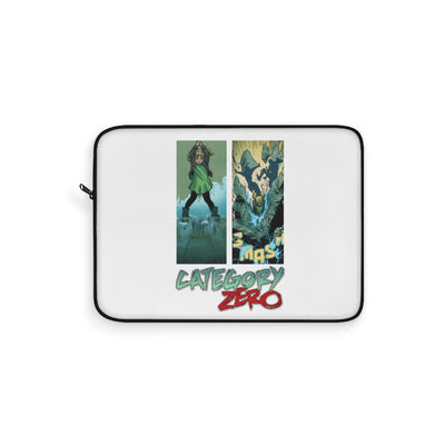 Category Zero (Logo Girl  Design)  - Laptop Sleeve