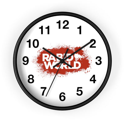 Rabid World - Wall Clock