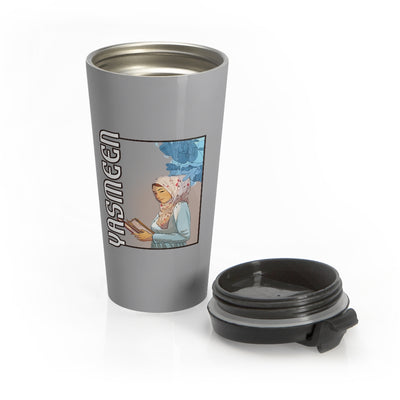 Yasmeen (Book Design) - Stainless Steel Travel Mug