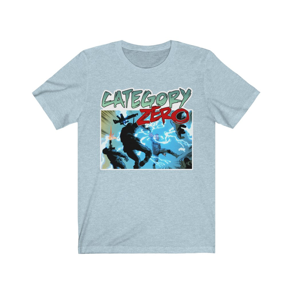 Category Zero (Shock Design)  - Unisex Jersey T-Shirt