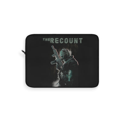 The Recount (Design Two) - Black Laptop Sleeve