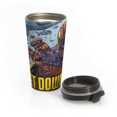 Sweetdownfall (Issue 1 Cover) - Stainless Steel Travel Mug