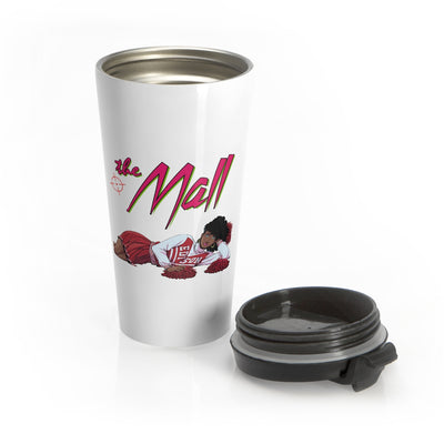The Mall (Cheerleader Design) - Stainless Steel Travel Mug