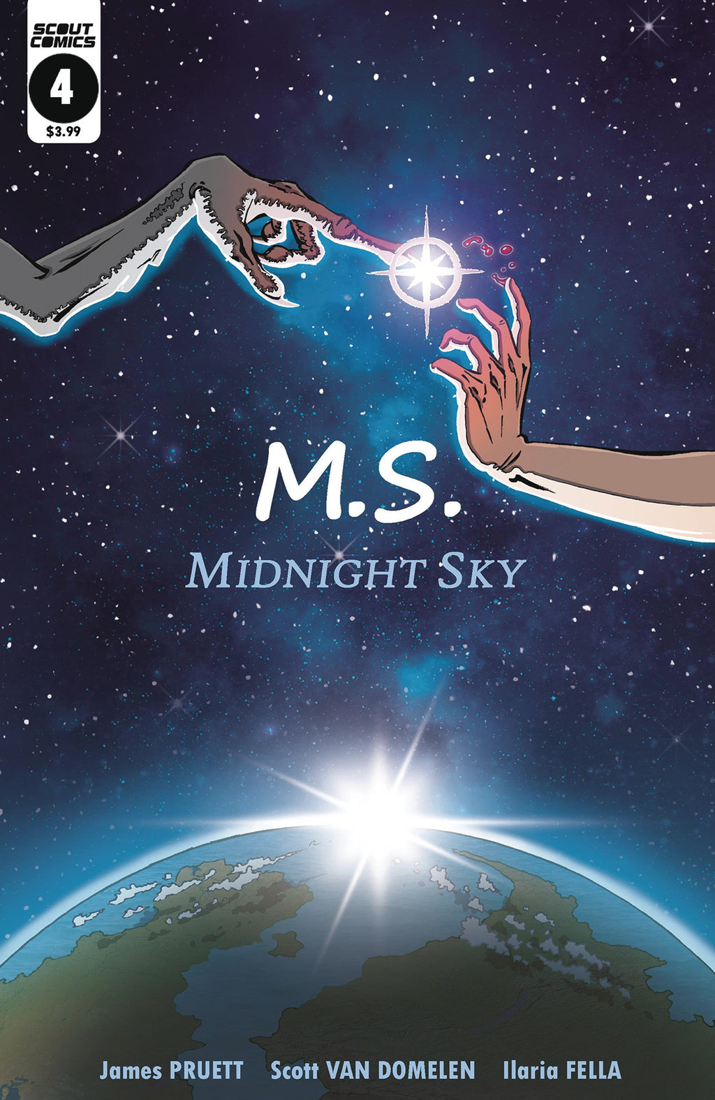 Midnight Sky #4 - Cover B