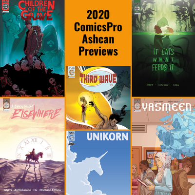 ComicsPro 2020 Ashcan Preview Set