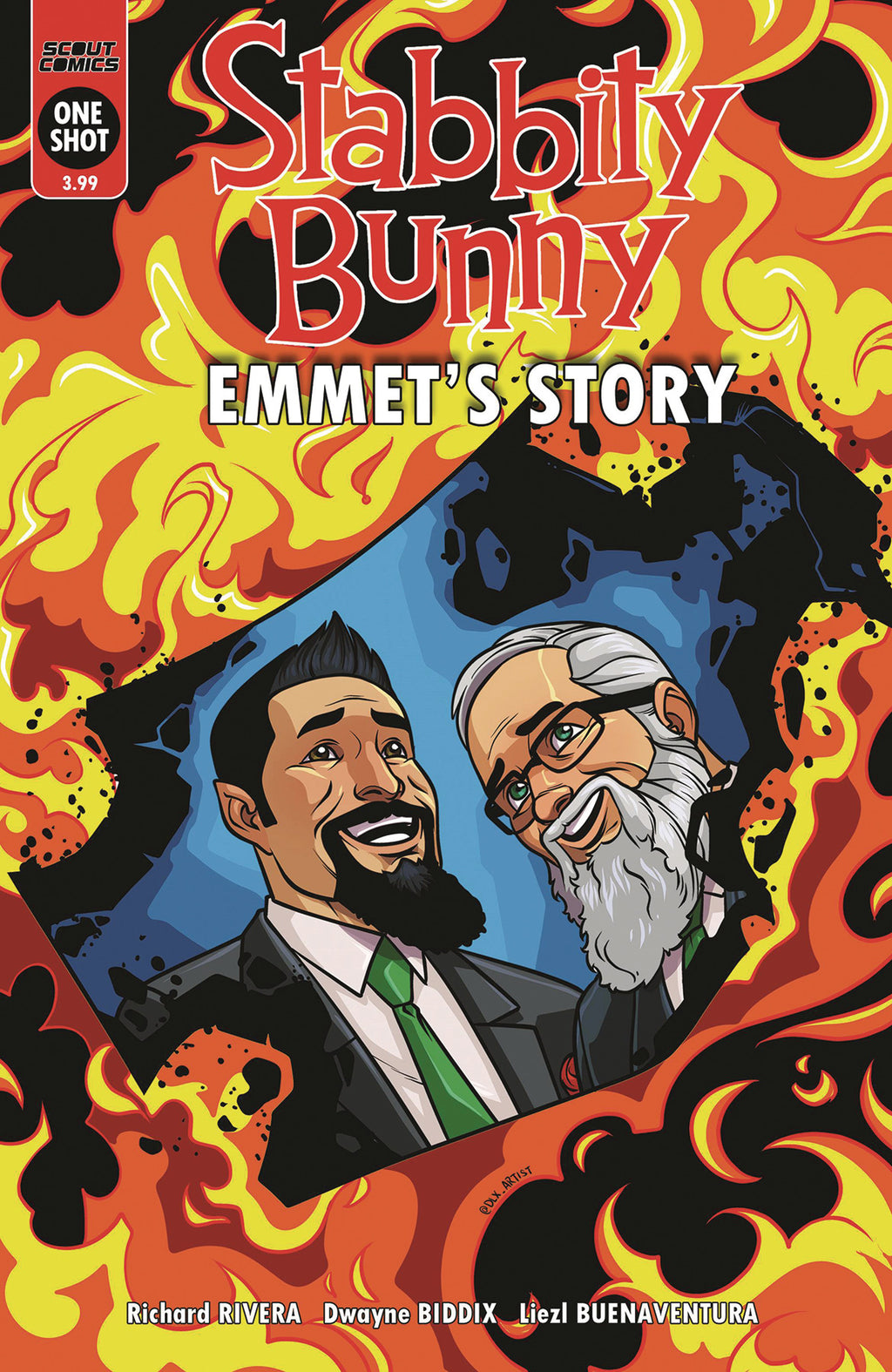 Stabbity Bunny Emmet's Story #1 - Cover A
