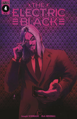 Electric Black #4 - Neon Pink Metallic Cover