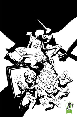 Gutt Ghost Trouble With Sawbucket Skeleton Society #1 - ECCC Variant