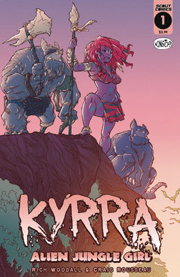 Kyrra Alien Jungle Girl #1