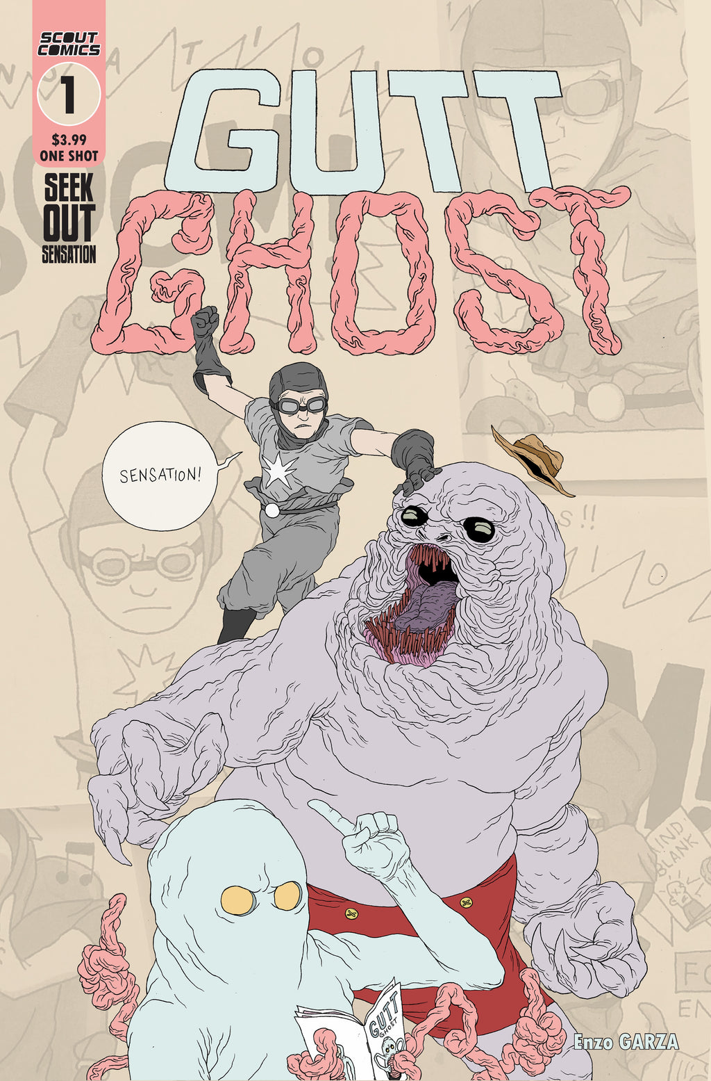 Gutt Ghost Seek Out Sensation #1 - DIGITAL COPY