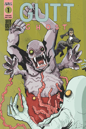 Gutt Ghost Seek Out Sensation #1 - Webstore Exclusive Cover