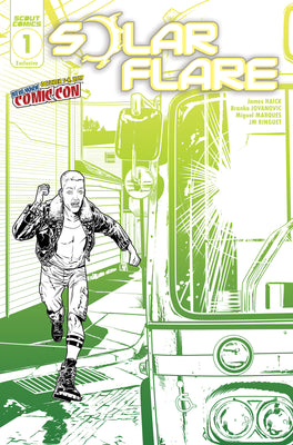 Solar Flare Season 2 #1 - NYCC Exclusive Cover