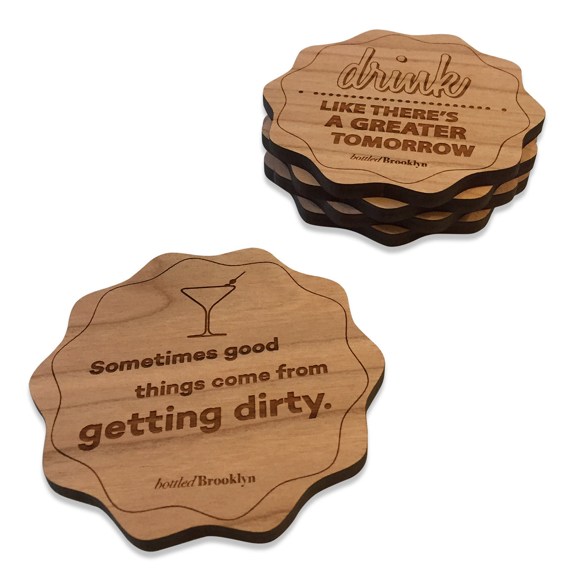 Drink Like There's A Greater Tomorrow Coaster