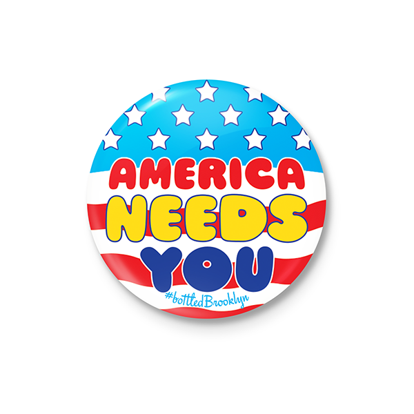 America Needs You Button