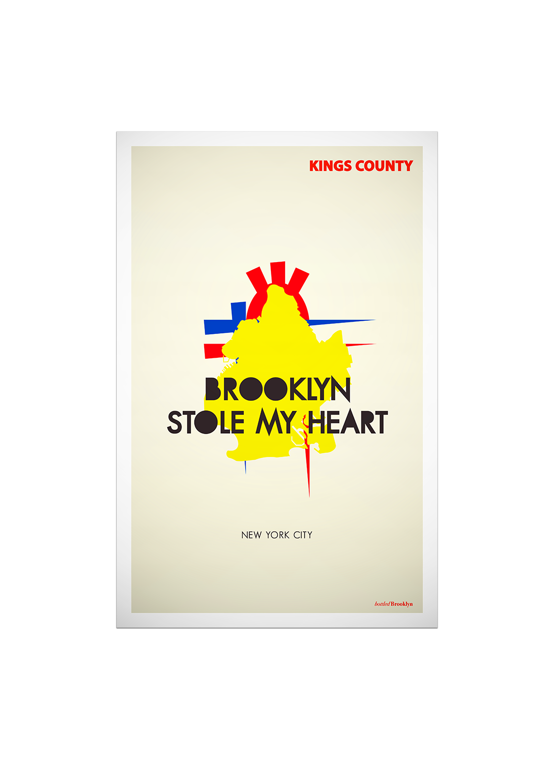 Brooklyn Stole My Heart Print | Poster
