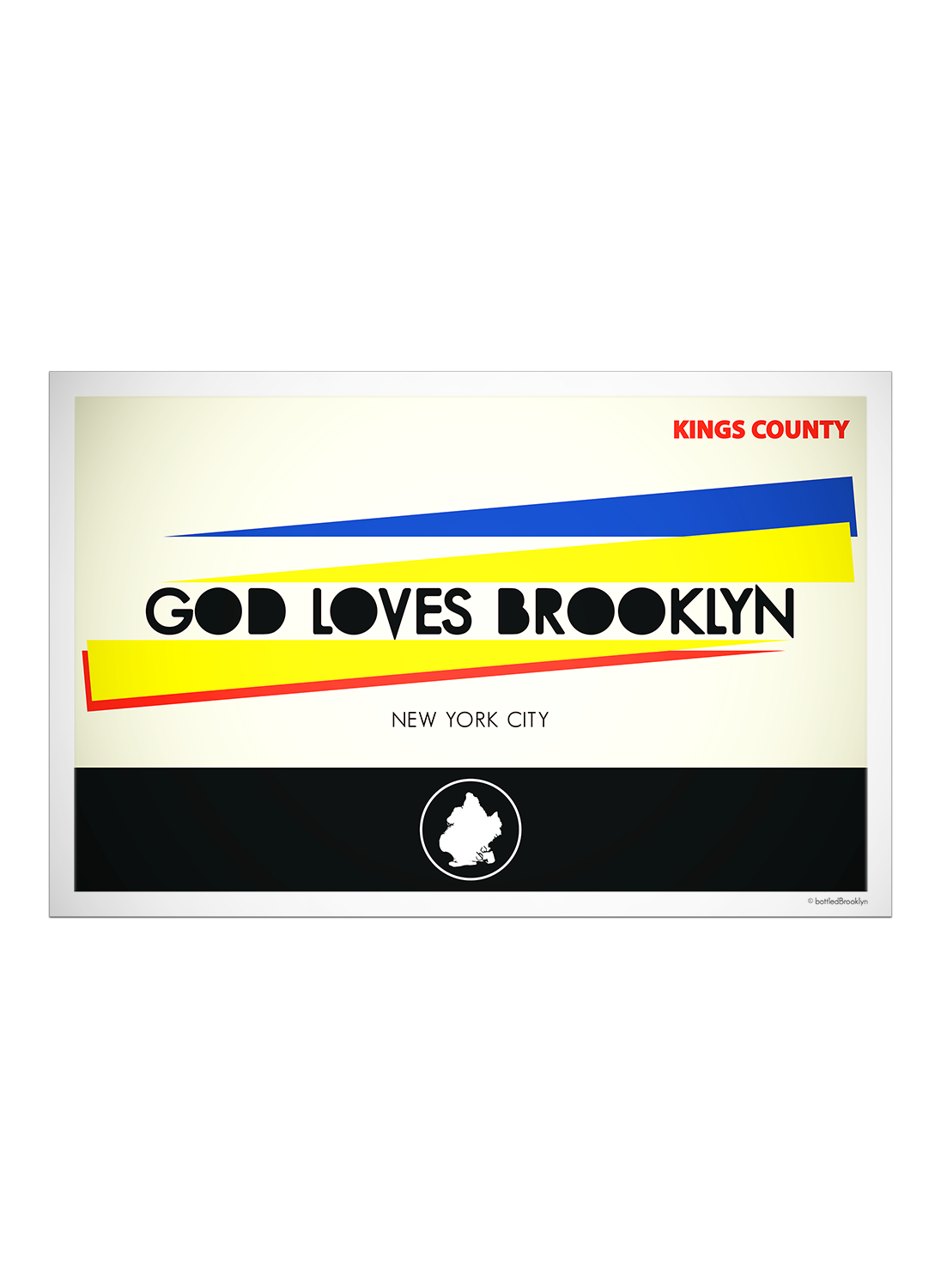 God Loves Brooklyn | Poster
