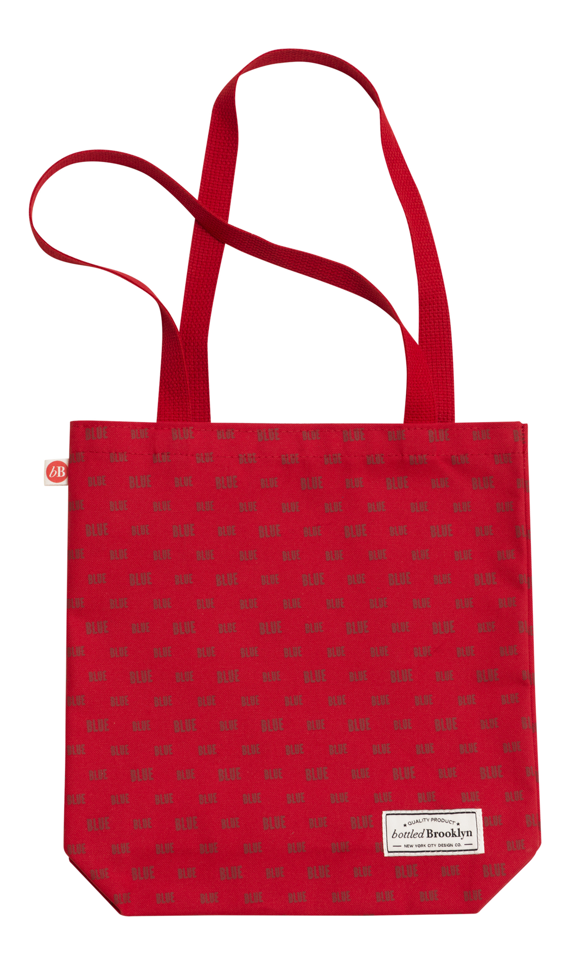 True Color Tote Bag | Let Your True Color Shine Through | RED