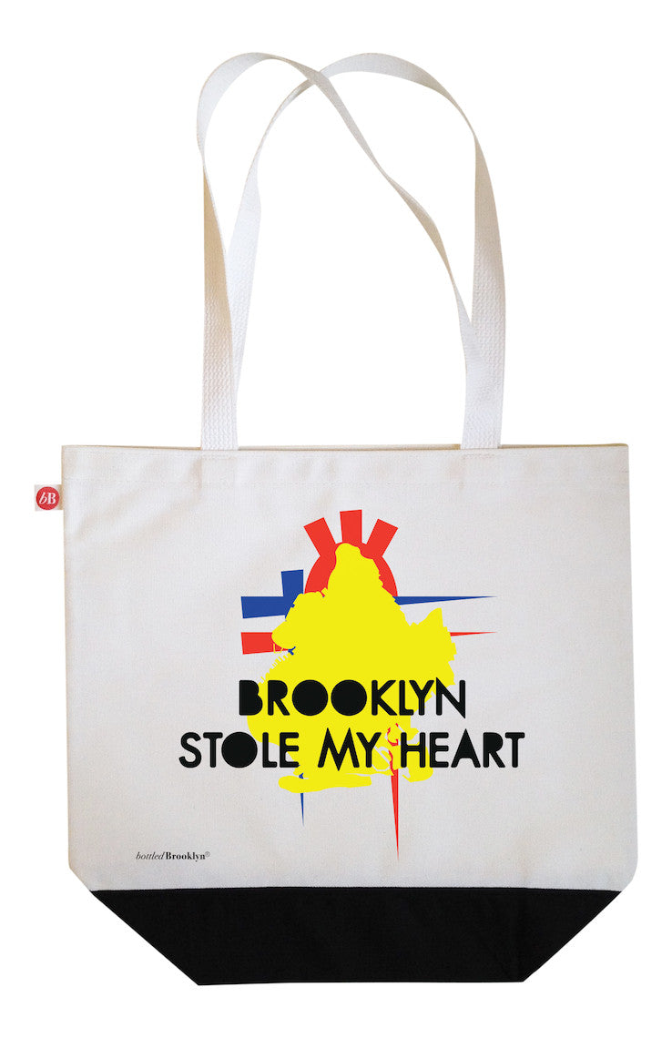 Brooklyn Stole My Heart Tote Bag