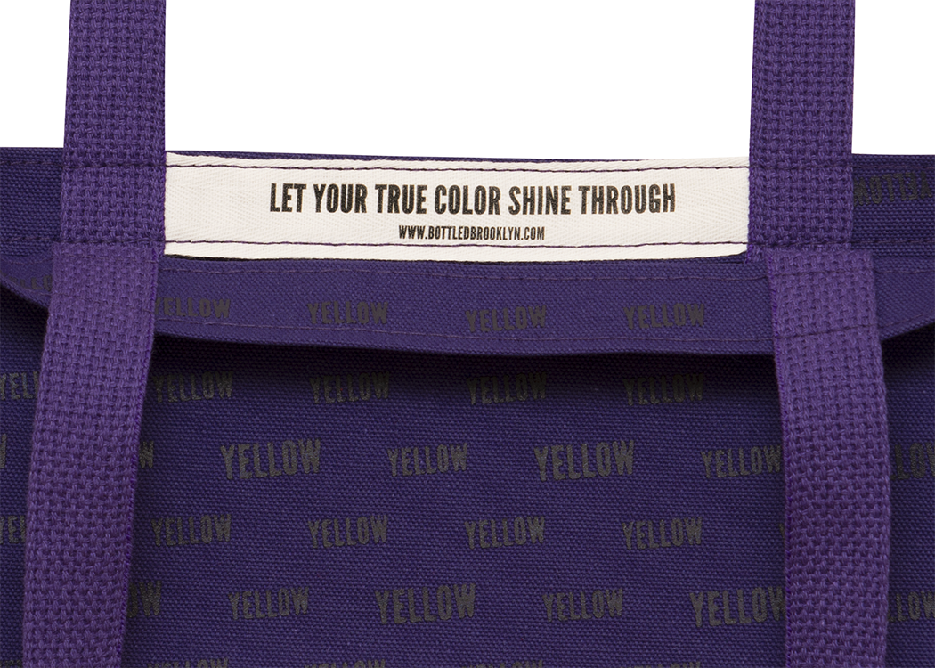 True Color Tote Bag | Let Your True Color Shine Through | PURPLE