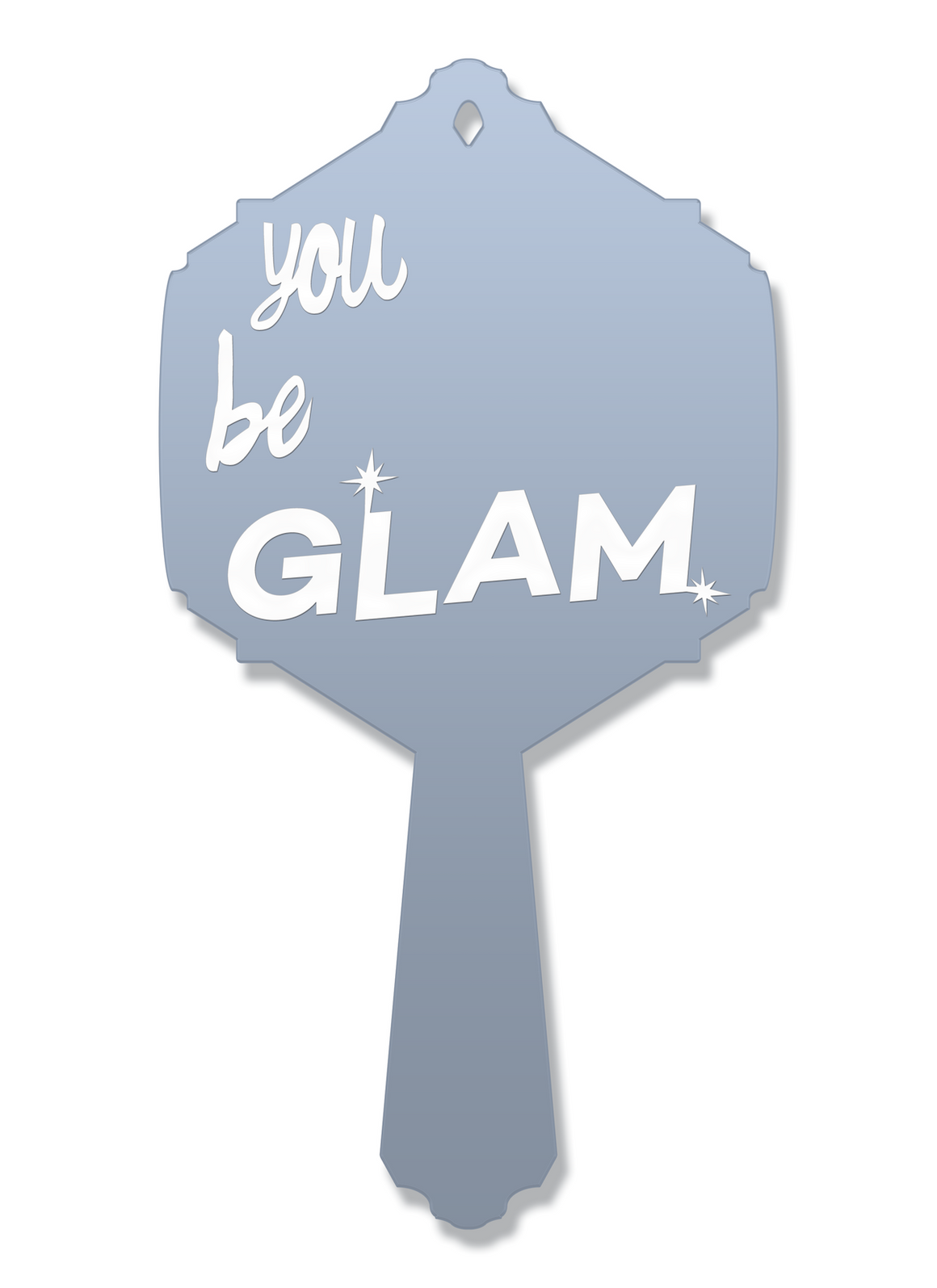 You Be GLAM Vanity Mirror | Hand Mirror
