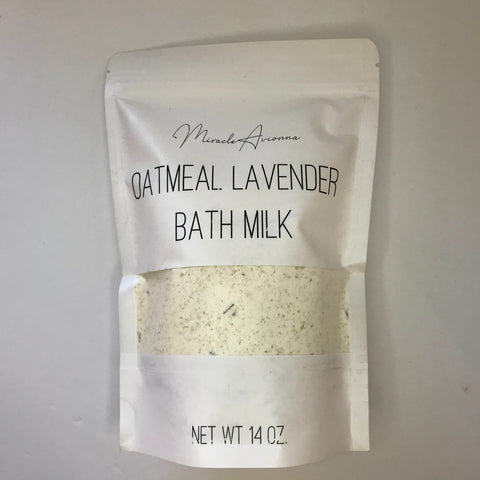 Oatmeal Lavender Bath Milk