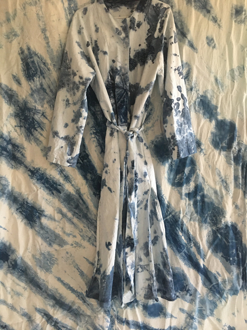 Indigo Denim Duster