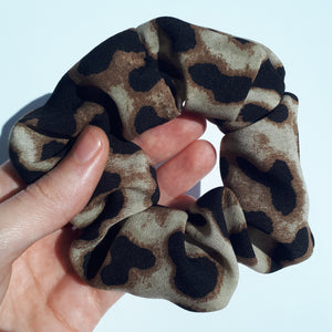 Leapord Print Hair Scrunchie