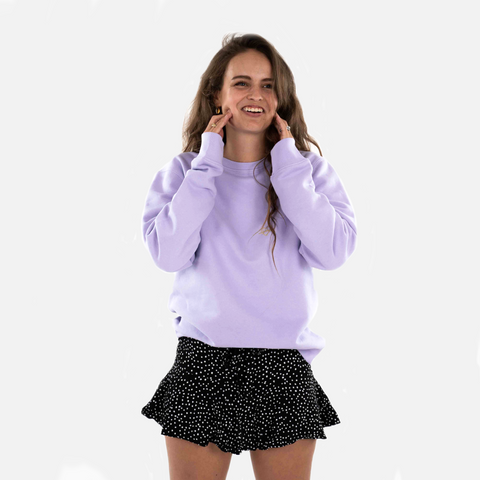 Beloved Crewneck Lila