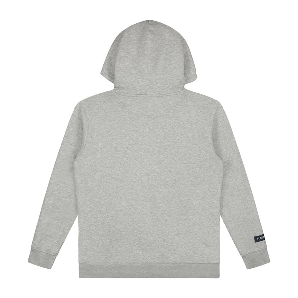 Flatline the Label Hartritme Hoodie Grey