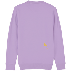 Flatline The Label Beloved Crewneck Lilac