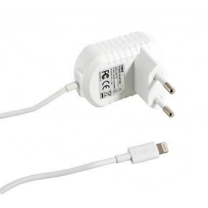 Power Adapter with Lightning Connector Euro 2 Pin