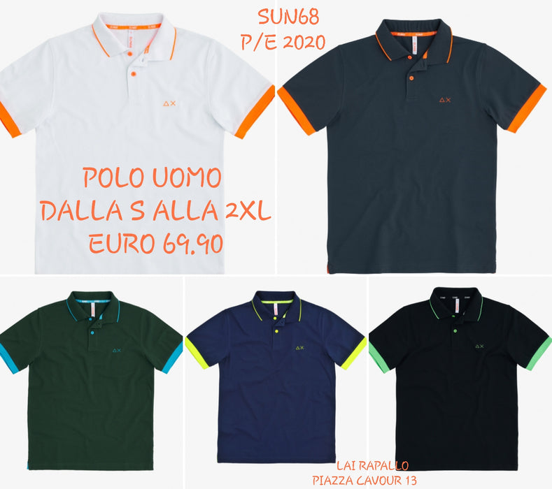 Polo Uomo Color Sun 68  P/E 2020