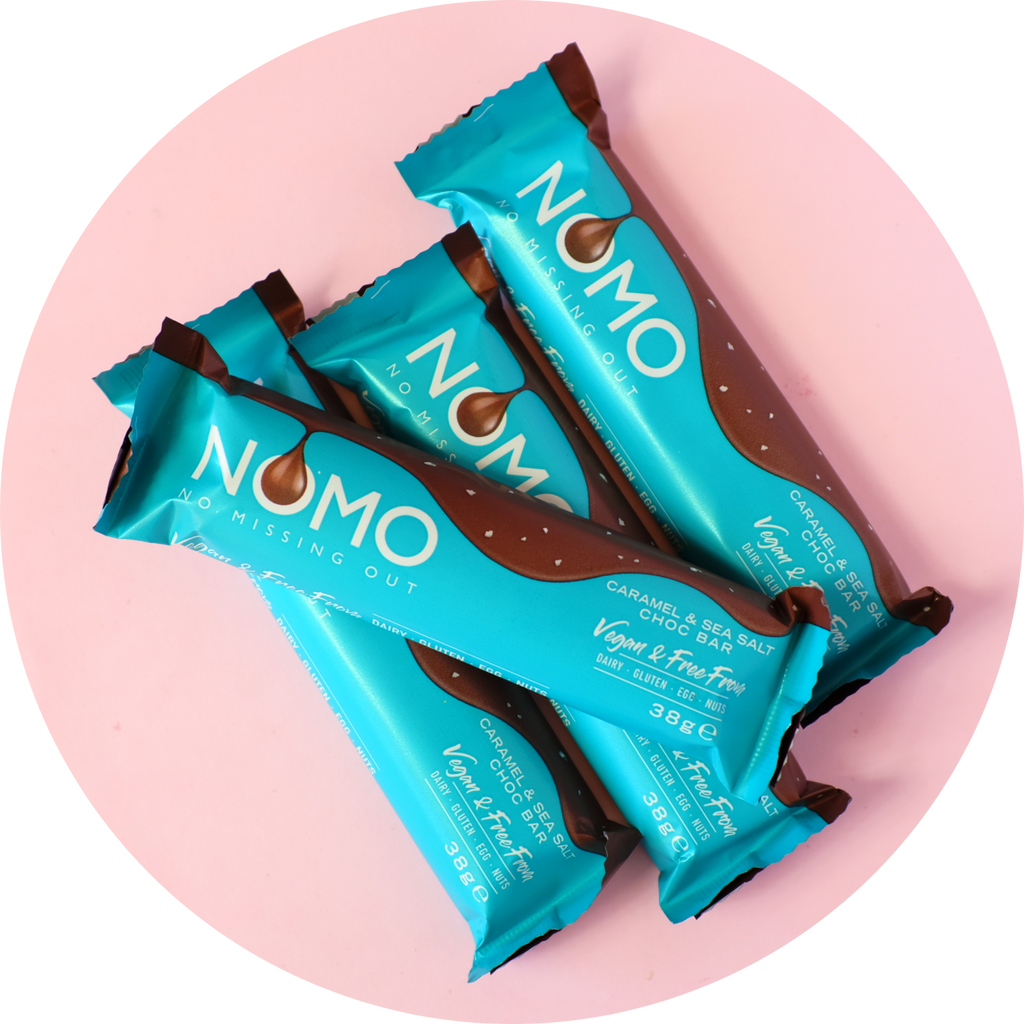 NOMO SEA SALT CARAMEL CHOCOLATE BAR