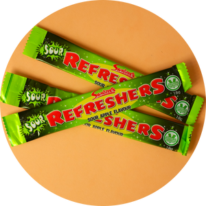 REFRESHERS APPLE CHEWBAR 18g